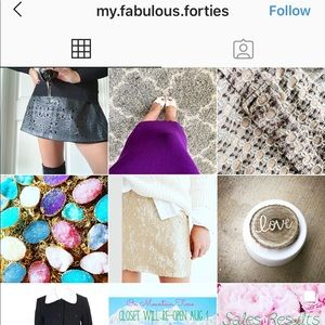 Follow me on Instagram for discounts and new items